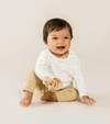 Quincy Mae - Baby's Drawstring Pant in Honey