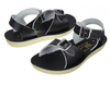 Saltwater - Toddler Sun-San Surfer Sandals - Black