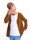 Beau Hudson - Kids Cardigan in Biscuit