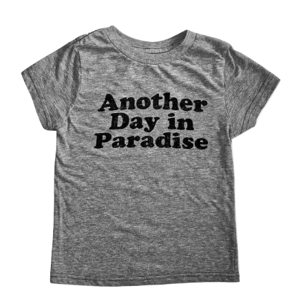 Kids Another Day in Paradise tee