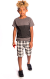 Appaman - Boys Reef Shorts in Checkers