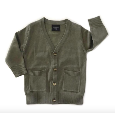 Little Bipsy - The 'Perfect Cardi' Cardigan in Olive