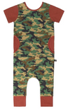 Rags to Raches camo romper