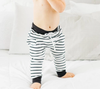 Little Bipsy - Stripe Joggers in Black/White