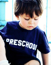 Hatch for Kids - Animal House Original 'PRESCHOOL' Tshirt in Navy (Size 2T)