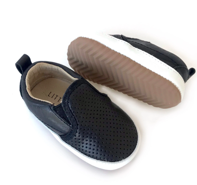 Little Bipsy - Baby Easton Slides in Black