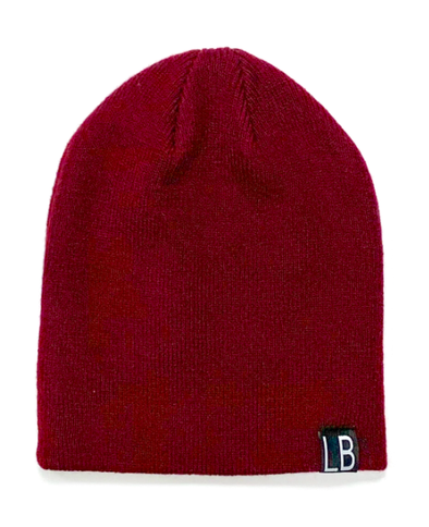 Little Bipsy Knit Beanie burgundy