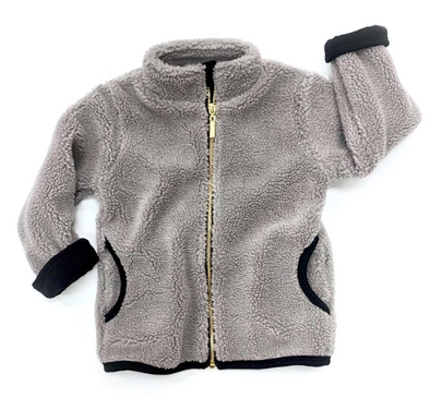 Little Bipsy - Sherpa Jacket in Grey