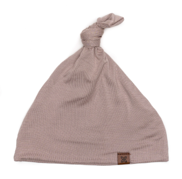 Papillon Bebe - Knotted Hat in Fawn