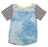 Miki Miette - Phoenix Pocket Tee in Heather Grey Stripes