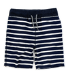 Appaman - Boys Camp Shorts in Navy Stripe French Terry