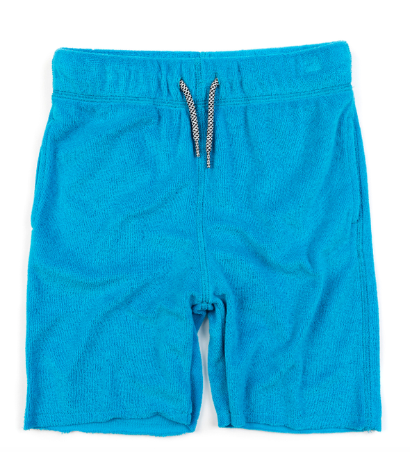 Appaman terry cloth camp shorts vivid blue