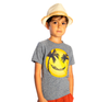 Appaman - Boys Happy Hammock Tee in Heather Grey (Size 7)