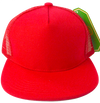 Children's Trucker SnapBack Hat in Red