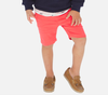 Mayoral - Boys 5-Pocket Basic Twill Shorts in Coral (Size 2 and 5)