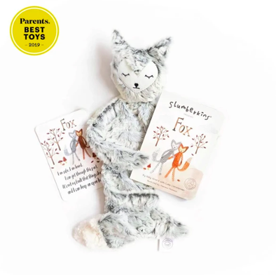 Slumberkins - Silver Fox Snuggler + Book Bundle