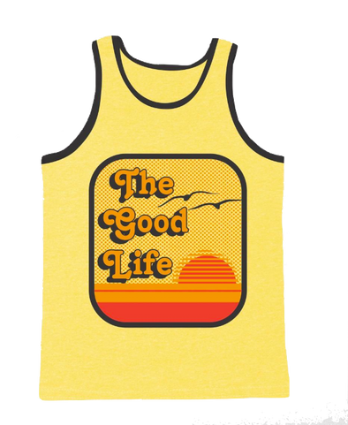 The Good Life tank in yellow