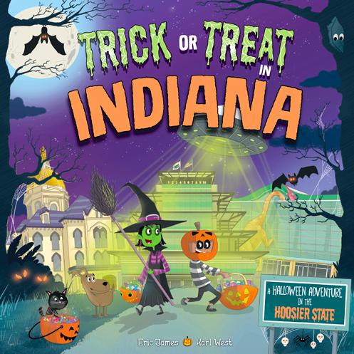Trick or Treat in Indiana book