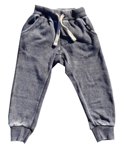 Boys grey fleece joggers by Vintage Havana