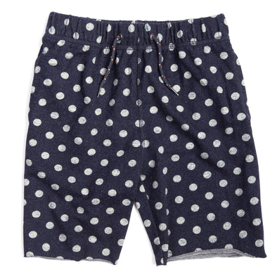 Appaman - Boys Camp Shorts in Navy with Dots (Size 5 and 6)