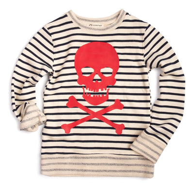 Appaman boys pirate stripe sweatshirt