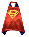 boys red superman cape