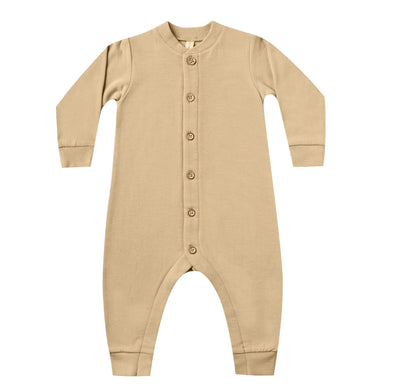 Quincy Mae fleece jumpsuit in honey
