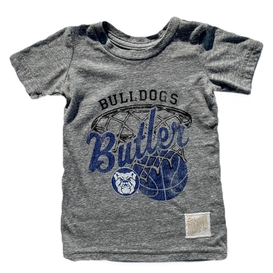 Retro Brand - Butler Basketball Tee in Heather Grey (Size 4 and 6)
