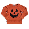 Toddler Jack o lantern face sweatshirt