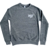 Roman & Leo - Women's Raising Boys Crew Neck Sweatshirt in Heather Grey