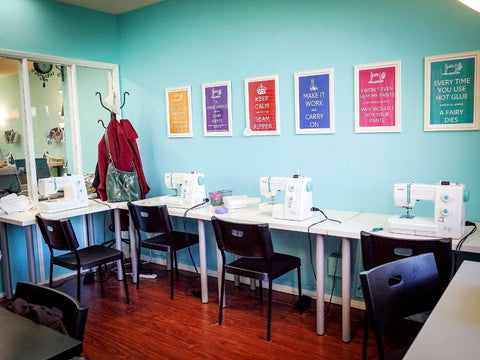 Made Is A Full Scale, Hourly Rate, Sewing Studio And Retail Space, Stocked  With Professional Grade Equipment And Supplies. Made Has: