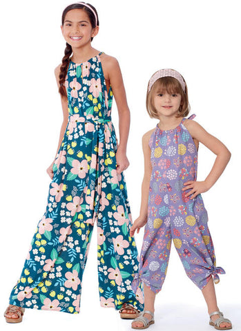 Kids Camp: Summer Rompers/Jumpsuit