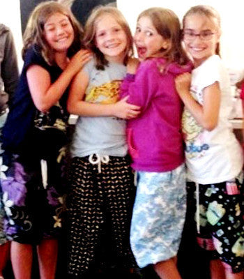 Kids Camp: PJ Party! PJ Bottoms & Floor Pillows