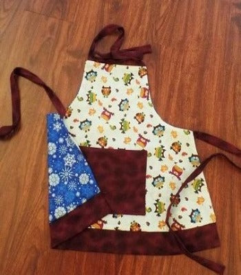 Kids Camp: Reversible Holiday Apron