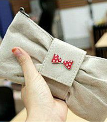 Kid Made Sundays: Bow Clutch Bag