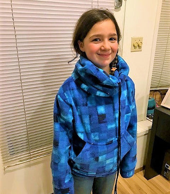 Kids Camp: Cozy Collar Sweatshirt