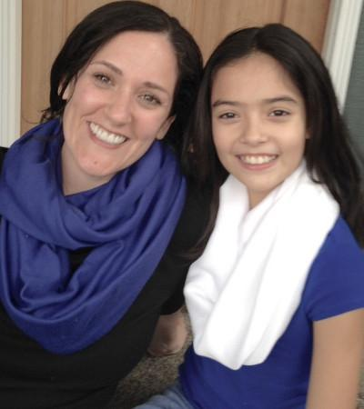 Family Sewing Fun: Infinity Scarves