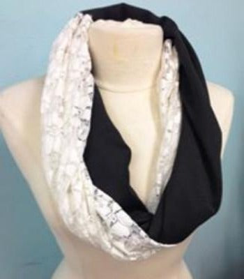 Intro to Sewing: Knit Infinity Scarf