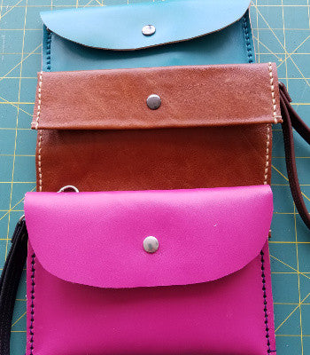Intro to Leatherwork: The Perfect Little Clutch