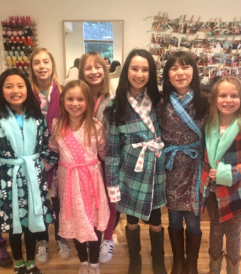 Kids Camp: Cozy Robes & Slippers