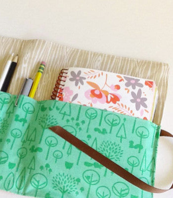 Kid Made Sundays: Sketchbook & Pencil Holder