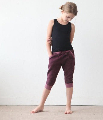 Kids Camp: Sporty Sweat Pants and Racerback Tunic