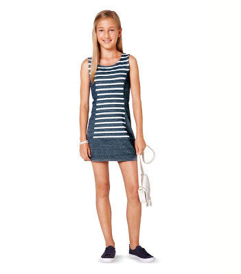 Kids Camp: Sporty Tank Dress (9 & Up)