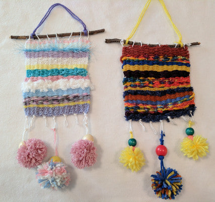 Kids Yarn Arts: Wall Weaving & Knitting Necklaces