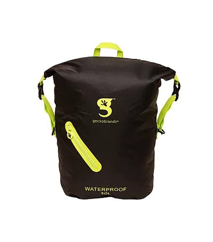 Geckobrands Waterproof Lightweight 30L Backpack