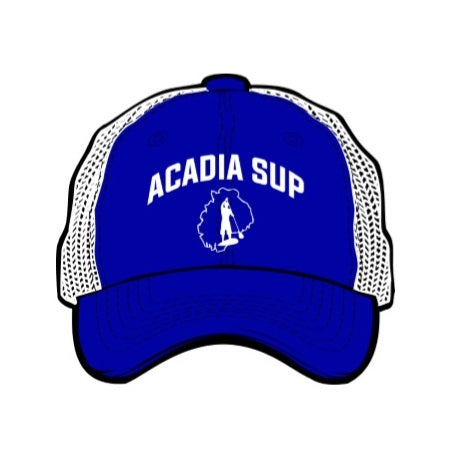 Acadia SUP Logo University Trucker