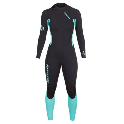 Hyperflex VYRL Women's 3/2mm Back Zip Full Suit GBS