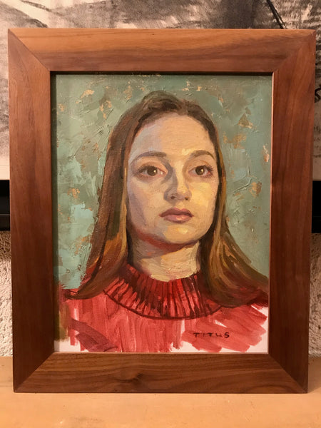 Miamatte (11x14 inches, framed)