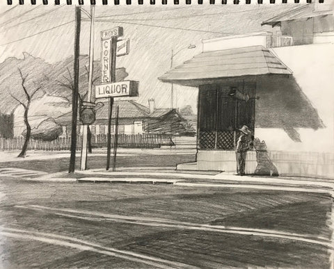 Roy's Liquor (14x11 inches)