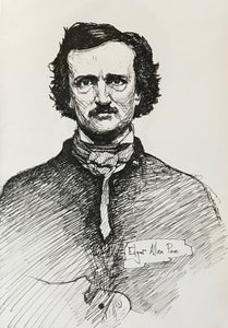 Edgar Allen Poe (5.5x8 inches)